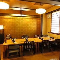 8名様までのテーブル個室。