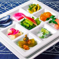 料理メニュー写真日本各地のお漬物