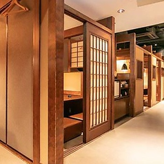 ゆったりとくつろげる個室を多数ご用意しております。#個室#居酒屋#ランチ#テイクアウト#宴会#牛タン#和食#名古屋駅#名駅#飲み放題#接待