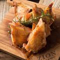料理メニュー写真大山地鶏のロースト ソースタプナード