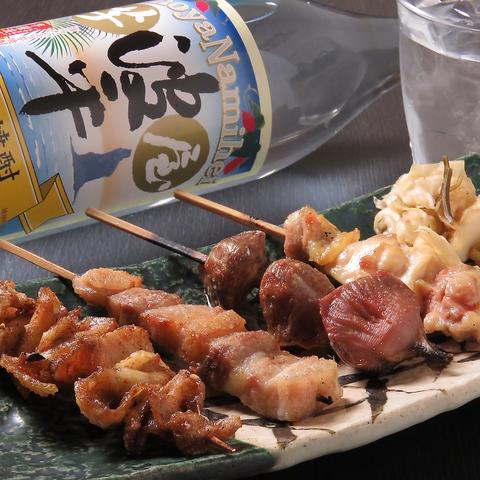 名古屋で修業した店主がこだわった、名古屋コーチンメインの焼き鳥!宴会もおススメ!