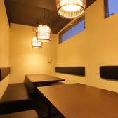 最大14名様まで可能な個室ソファタイプ席。女子会、宴会をお楽しみください。
