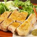 料理メニュー写真森林鶏の炭火焼き柚子胡椒添え