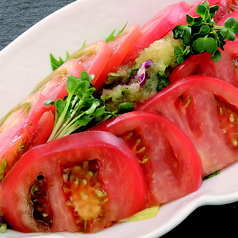 料理メニュー写真トマトサラダ/サンチュサラダ/大根サラダ