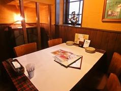 落ち着いた個室空間でお食事会♪