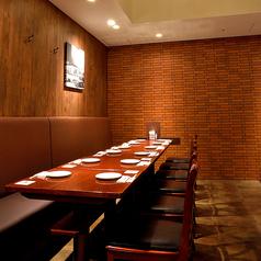 8~10名様までのテーブル席です。ちょっとした集まりに便利です☆