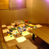 掘り炬燵のお席は、キッズルームも完備しております♪