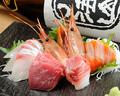 料理メニュー写真朝〆お刺身盛り各種(3種/5種/7種)