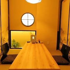 デートにも◎雰囲気抜群の完全個室