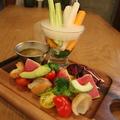 料理メニュー写真産地直送!彩り野菜のバーニャカウダー