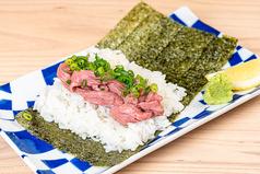 ローストビーフのうずまき寿司