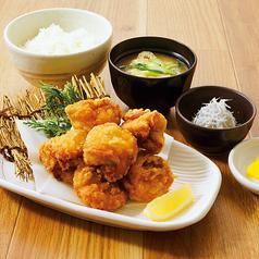 二段仕込み鶏の唐揚げ定食[6個]