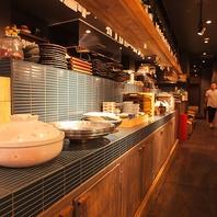 調理の姿が見える粋な空間★新潟駅近の居酒屋遮二無二