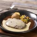 料理メニュー写真大人のクアトロチーズハンバーグ
