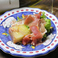 Apple terrine, with Italian Raw ham  信州産りんごのテリーヌとイタリア産生ハム