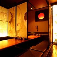 接待やプライベートな飲み会に最適な少人数個室もご用意!2名様~ご利用いただけます!