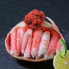新鮮な魚介類の数々。
