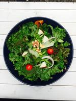 栄養価の高いグリーンカールを使用