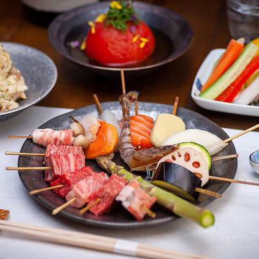 ふじやま串揚げ店のおすすめ料理1