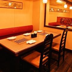 テーブル席 ~4名