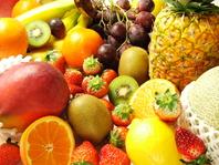 新鮮なフルーツをふんだんに!