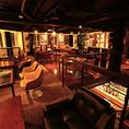2階高級ソファフロアを贅沢に貸し切ってパーティも♪飲み放題付きコースは3980円(税抜)~
