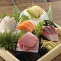 料理メニュー写真刺身盛り合わせ(三種/五種)