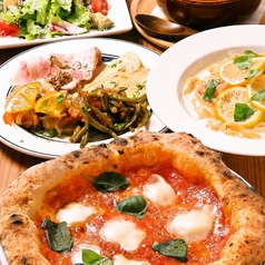 venite pizzeria ヴェニーテ ピッツェリアのコース写真