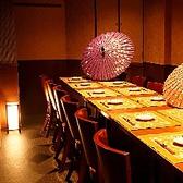 10名様から14名様テーブル完全個室