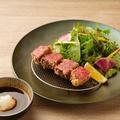 料理メニュー写真A5等級 能登牛の赤身の牛カツ