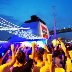 東京湾 納涼船の写真