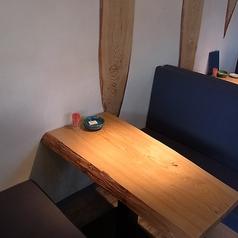 テーブルのお席です。