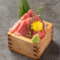 産直のお刺身やお寿司が食べ放題!