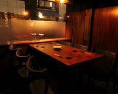燻煙 Smoke Dining 新宿御苑の雰囲気1