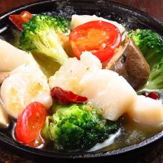 料理メニュー写真ホタテと厳選野菜