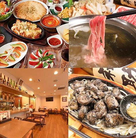 【赤羽】和・洋・エスニックが混合したグローバルな料理!本格アジアンダイニング!