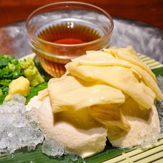 料理メニュー写真湯葉のせ豆腐