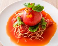 問い合わせNO1『爆弾トマトスパゲッティ』付コース