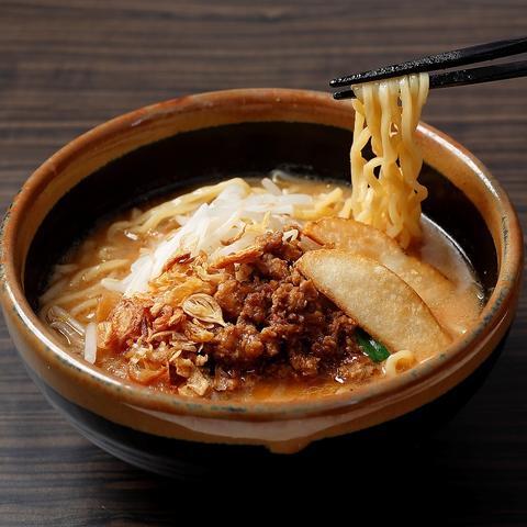 日本古来の発酵食品「味噌」を主役にした「味噌らーめん専門店」。