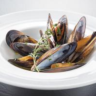 魚介系のお料理も心を込めてご提供