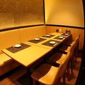 【半個室】ソファ席の個室もご用意しております。※個室のみ予約OK。お電話でご予約ください。