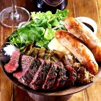 """肉×ワインのマリアージュを気軽に楽しめる""""肉バル""""♪"""
