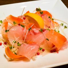 料理メニュー写真ALL¥500均一★三重県産 真鯛のカルパッチョ