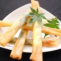 料理メニュー写真チーズスティック春巻き揚げ(5本)