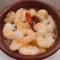 料理メニュー写真小海老のアヒージョ