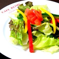 料理メニュー写真スモールハウスガーデンサラダ