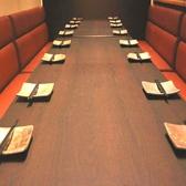 10名~14名様用のゆったり個室テーブル席
