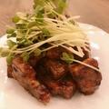 料理メニュー写真イベリコ豚のとんてき
