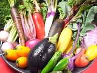 当店の野菜は全て鎌倉野菜を使用しております。
