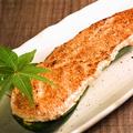 料理メニュー写真焼きズッキーニの明太のせ